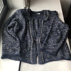 Jackets & Coats - Beautiful Blue knitted blazer 4